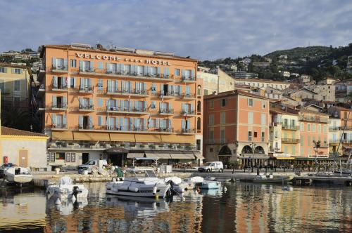 Hotel Hôtel Welcome - Hotels Villefranche-sur-Mer - France -